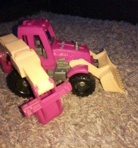 Трактор - экскаватор
