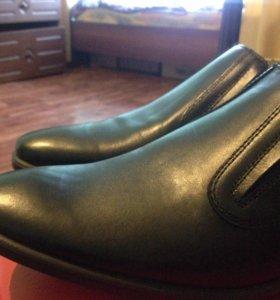 Туфли мужские кожа новые