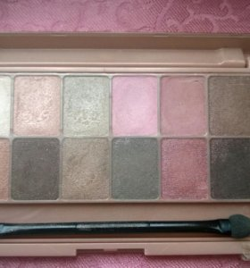 Палетка теней Maybelline Shadow Palette Blush Nude