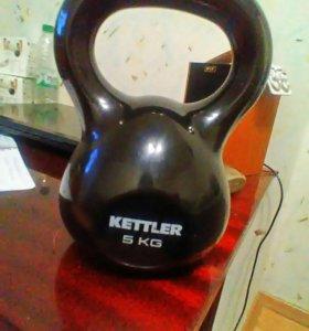 Гиря 5 кг KETTLER