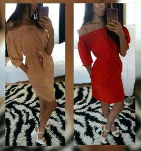 Новые платья в трех расцветках