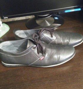 Мужские туфли из натуральный кожи