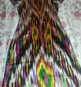 натуральний шелк платья