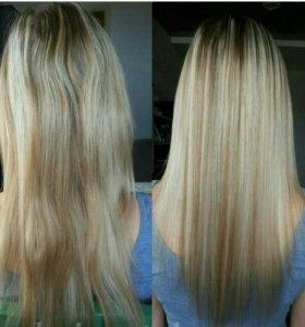 Ботокс для волос,кератиновое выпремление,полировка
