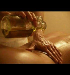 Расслабляющий массаж всего тела