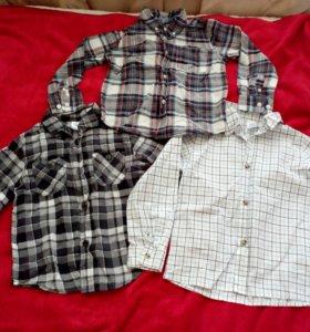 Рубашки, кофты на 4-5 лет