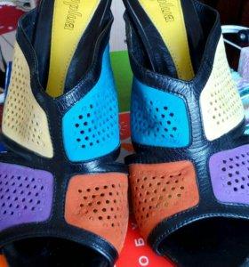Новые Кожаные туфли