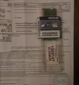 Оперативная память sodimm DDR2 2GB 800 MHz