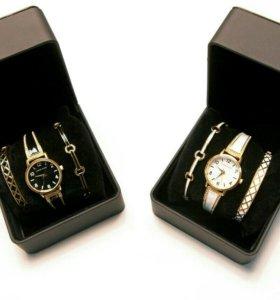 Часы Anne Klein + два браслета!