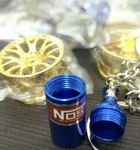 Брелок бутыль азота