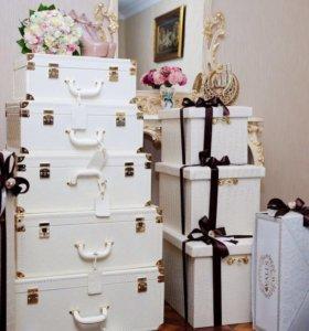 Прокат свадебных чемоданов