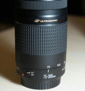 Обьектив Canon 75-300 mm