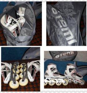 Ролики новые раз 38 женские сумка в подарок