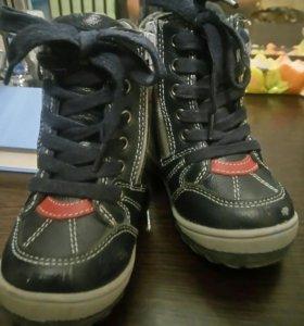 Ботинки зимние детские kapika
