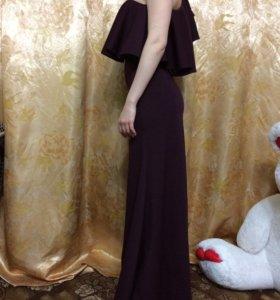 Платье в пол,