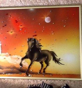 Картина из кристалловSWAROVSKI