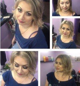 Стилист-визажист, парикмахер