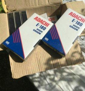 Видео кассеты новые