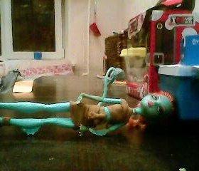 Кукла монстер хай (Лорна Мохнеси)