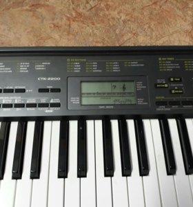 Синтезатор Casino CTK 2200+ подставка