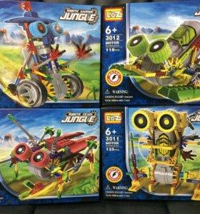 конструктор серия роботы с мотором