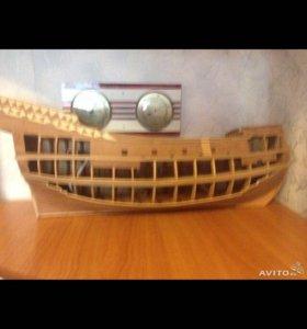 Корабль галеон
