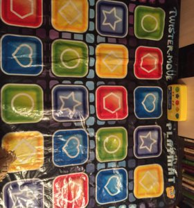 TWISTER-MOVE. PLAY MAT.