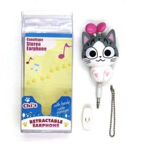 Наушники кошка. Наушники фрукты с микрофоном
