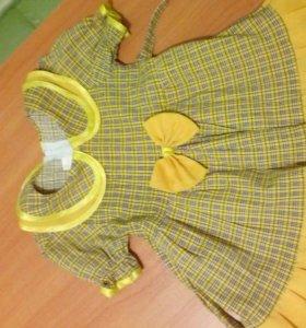 Платье на девочку годик-два