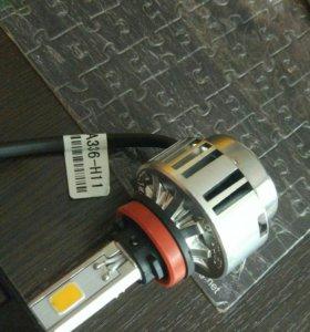 Светодиодная лампа Н11 LED 1 шт.