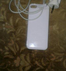 Дапалнителное батарейка айфон 5$