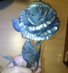 Железная роза (кузнечное изделие)
