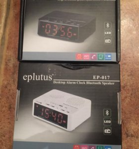 Радиобудильник Eplutus с Bluetooth