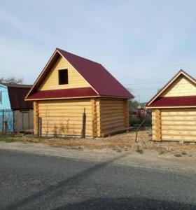 Строительство дачных домиков за 5 дней.