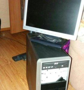 Процессор и монитор 17'