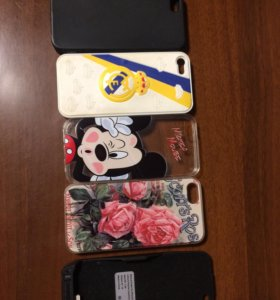 Чехлы айфон 5 и аккумулятор