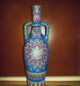 Декоративные бутылки и графины