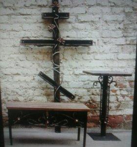 Ритуальные изделия из металла