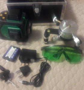 Лазерный уровень. Зеленый луч