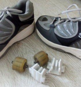 Кроссовки на роликах