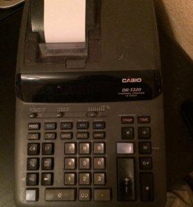 Электронный калькулятор с термо-принтером