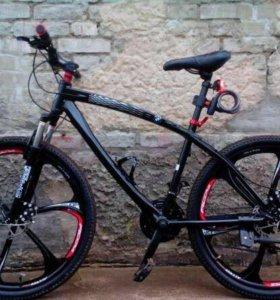 Велосипед BMW чёрный АКЦИЯ