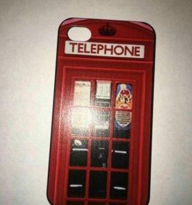 Б/у чехлы для телефона Iphone 4s
