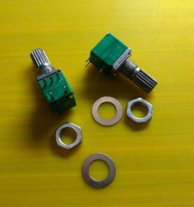 Потенциометр моно с выключателем