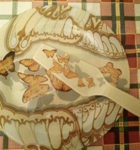 Тарелка с лопаткой