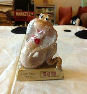 Свечи фигурки Мишка-ангел и змейка