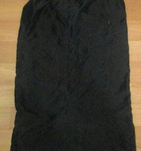 Черная,спортивная юбка 46-48-50раз.