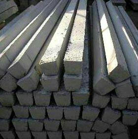 Опорный бетонный столб