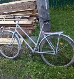Взрослый велосипед.