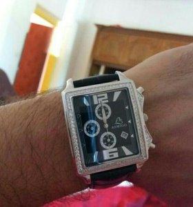 Мужские серебрянные часы